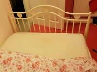 White Children's Bed