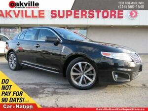 2011 Lincoln MKS LEATHER | BLUETOOTH | HEATED & VENTILATED SEATS