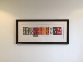 Framed Henri Matisse Print - Composition (Les Velours), 1947