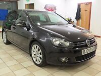 !!GT TDI!! 2009 VW GOLF MK6 2.0 DIESEL / FULL SERVICE HISTORY / 12 MONTHS MOT / BLACK / 5 DOOR /