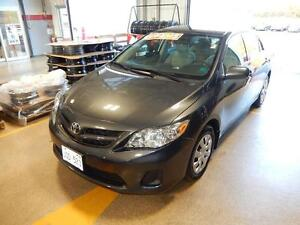 2013 Toyota Corolla CE Low kms on a reliable fuel sipper