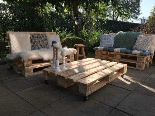 Pallet loungeset | Pallet bank | Palletbank | Loungebank