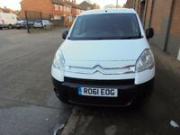 Citroen Berlingo 1.6 HDi 3 Seats 2011 / 61 REG NO VAT