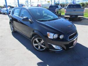 2015 Chevrolet Sonic RS | LEATHER | ROOF | CAM