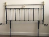 Bedhead board for a double bed