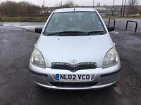 Toyota Yaris Automatic 2002 1.3 73K Almost 12 Months MOT Going Dead Cheap