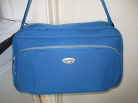 Light Blue Fabric Bag
