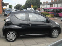 citroen c1 black lowest insurace you can get only £20 a year tax 60+mpg cheapest car to run by far