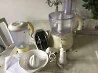 Kenwood multi pro food processor with all attachments, great working order.