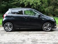 PEUGEOT 108 1.2 PURETECH ALLURE 5d 82 BHP LOW INSURANCE, LOW RUNNING COSTS (black) 2015