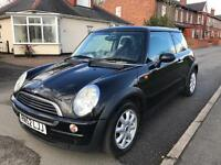 "MINI COOPER ""ONE"" 1.6L 2003 in metallic black colour. SEE PICS"
