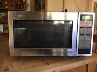 SHARP Microwave oven with top and bottom grills and convection 900W