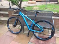 GHOST TACANA 2 29er Mountain Bike as new unwanted gift
