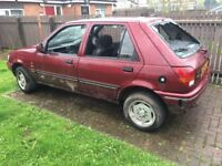 Mk3 Ford Fiesta ghia breaking for parts