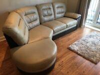 4 Seater Leather Corner Sofa (SCS)