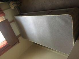 Single Bed and headboard
