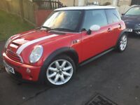 MINI COOPER S CHILE PAK FULL HEATED LEATHER PANORAMIC S.ROOF HEATED FRONT/REAR SCREEN GOOD DRVR COND