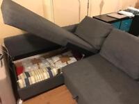 Ikea Friheten Corner Sofabed with storage