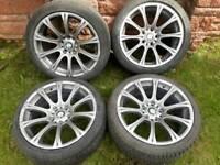 18 inch bmw m sport alloy wheels pcd 5x120