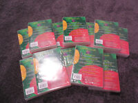 60 new DVD transparent cases