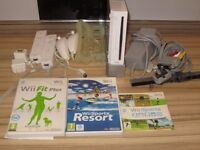 Nintendo Wii Console + Wii Motion Plus + Wii Fit + EXTRAS!
