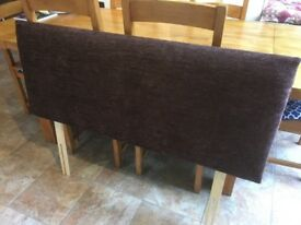 Small double Chenille Headboard 4ft