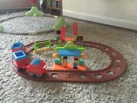 Happy land train station set