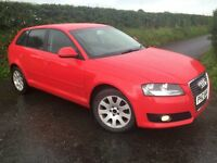 2010 AUDI A3 1.6 TDI SE (ALLOYS SAT NAV FRONT FOGS AIR CON) £20 TAX MAY PART EX FINANCE AVAILABLE