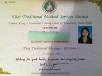 Thai massage my Natty