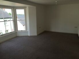 2 bedroom, 2 bathroom flat to let in Haverfordwest town centre.