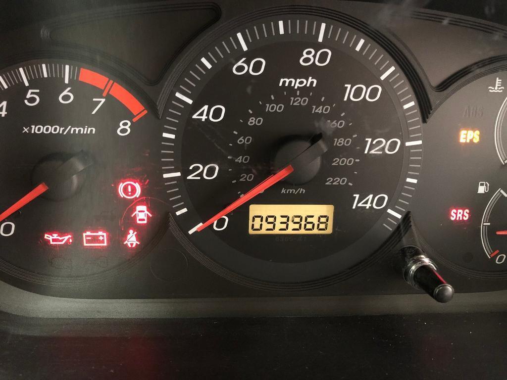 2003 Honda Civic 16 Cheap Tidy Car Full Service New Clutch This 1996 Fuel Gauge Week