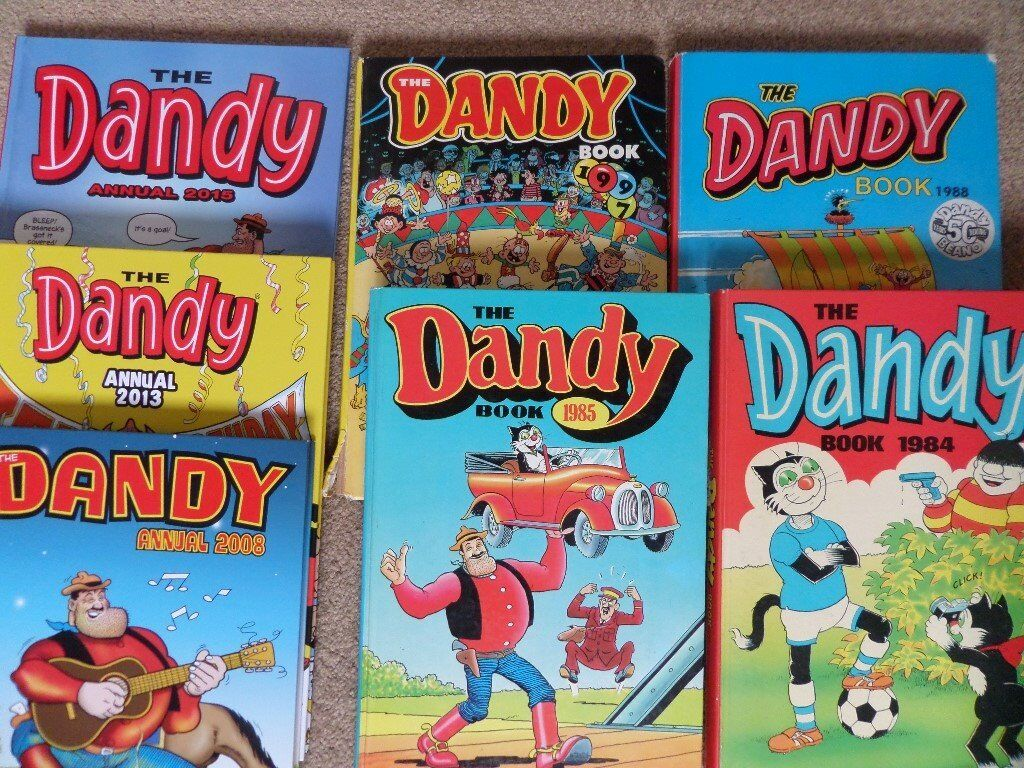 58 Beano, Dandy, Beezer etc. annuals. 31 have no writing inside and have not been price-clipped