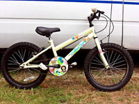 GIRLS WOODLAND CHARM BIKE IN GOOD COND JUST BEEN SERVICED AND SAFETY CHECKED