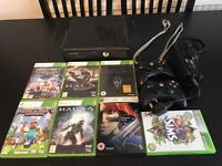 Xbox 360 with 7 games / 2 controllers