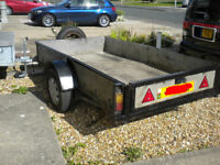 Trailer Car / Van 8' 1/2 ft x 5ft , Solid & Great to Tow