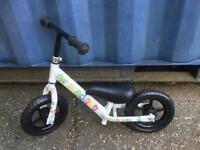 Adapt balance bike like new FREE DELIVERY PLYMOUTH AREA