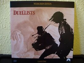 The Duellists. NTSC laserdisc. Widescreen edition.