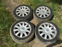 "Nissan Alloy Wheels 17"" Inch 5 Stud"