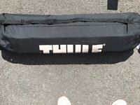 Thule roof box collapsible in bag