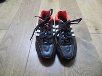 Boys adidas 11 nova football boots, size 1 1/2, worn once