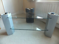 Sony Glass TV Stand