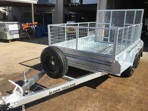 NEW 10 X 6 TANDEM BOX TRAILER HEAVY DUTY 600mm cage and ramp Maroochydore Maroochydore Area Preview
