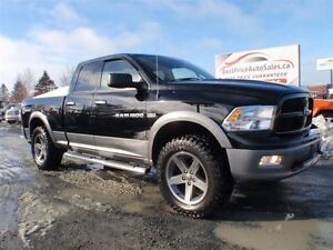2012 Ram 1500 SLT! OUTDOORSMAN! LIFTED! CERTIFIED!