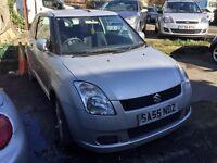 2005 Suzuki Swift, starts and drives located in Northfleet Kent