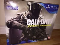 PS4 Slim 500GB Call of Duty Infinite Warfare Console Bundle BRAND NEW SEALED