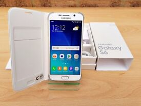 SAMSUNG GALAXY S6 32GB GOLD & WHITE (UNLOCKED) MUST SEE!
