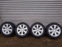 Mercedes s class alloy wheels 225/55/r17 excellent condition