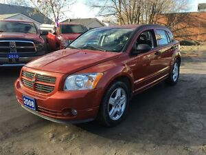 2008 Dodge Caliber SXT LOW KMS CLEAN CAR AUTO  ALLOYS  WHEELS