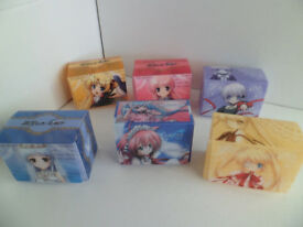 6 Collectible Deck Card Cases - Japanese