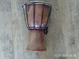 Nice wooden drum good condition